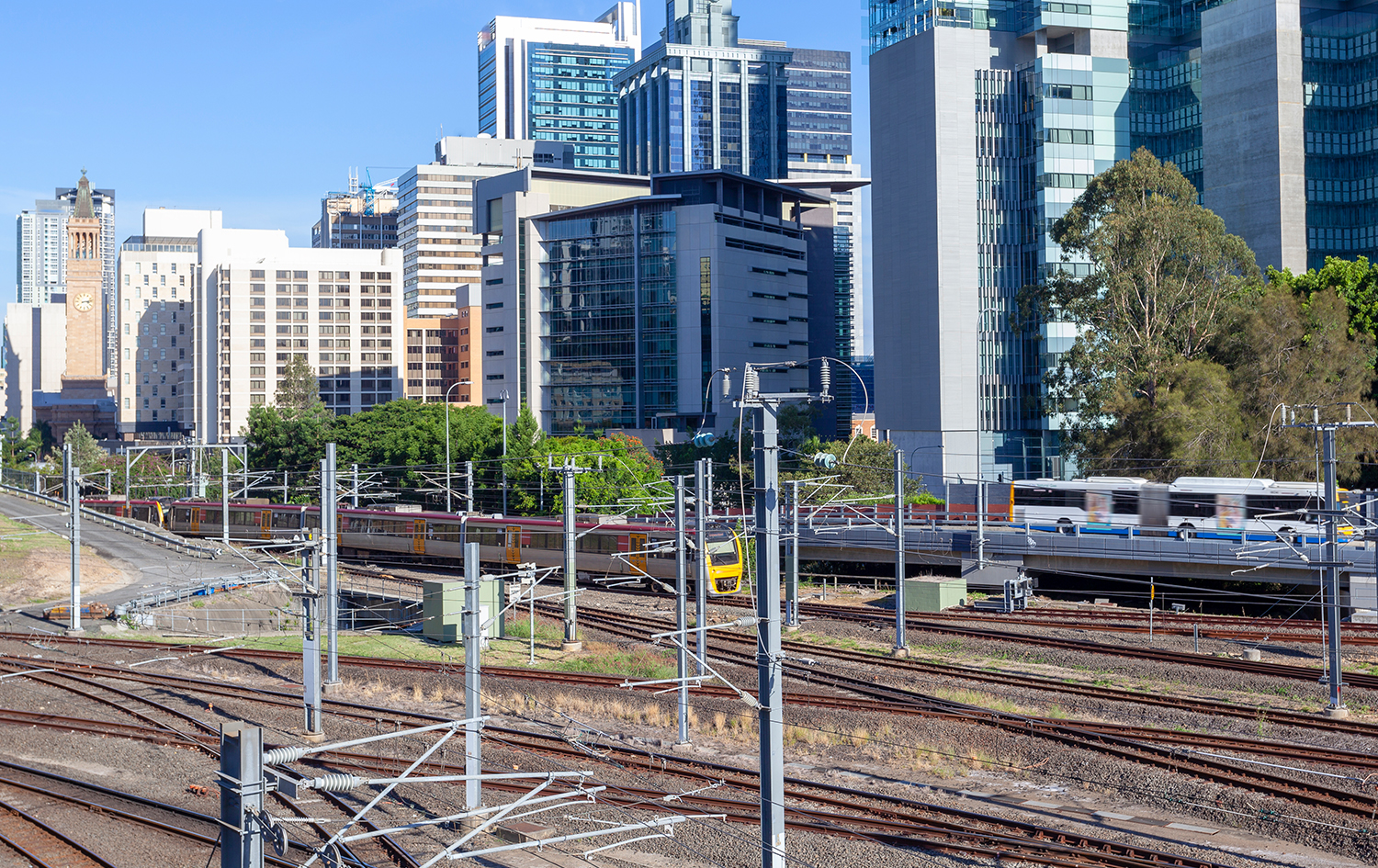Trains in Brisbane